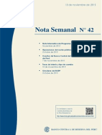 Nota Semanal N° 42