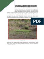 Riset Teknologi Pertanian Pengairan