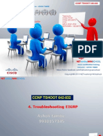 Chapter 5 Troubleshooting EIGRP