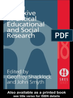 Being Reflexive in Critical Educational and Social Research