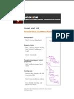 Connexions Journal 1-2