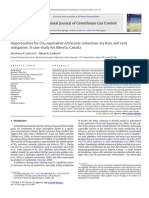 Opportunities for CO2 Equivalent Emissions Reductions via Flare and Vent Mitigation a Case Study for Alberta, Canada