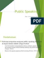 Presentasi Public Speaking Kelompok 3