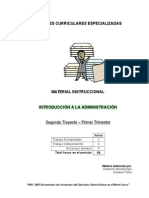 Material Introducción a La Administración