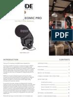 Rode Stereo VideoMic Pro Manual2