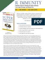 DrFuhrmans Super Immunity Factsheet