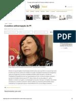 A Oradora Anticorrupção Do PT _ Brasil _ Notícias _ VEJA