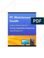 PC Maintenance Guide