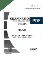 Bahasa Indonesia Sd Mi 2013