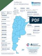 Mapa Pueblos Indígenas Argentina