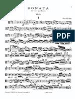 Bax - Sonata for Viola and Piano