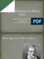 Ang Paglalakbay Ni Marco Polo