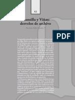Canala Juan P. - Mansilla y Vinas, Desvelos de Archivo