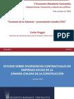 Contexto de La Industria Presentacion Estudio CChC Carlos Piaggio CChC