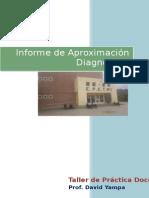 Informe de Aproximación Diagnostica