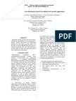Integrated Micro-Electro-Mechanical Sensor Development for Inertial Applications