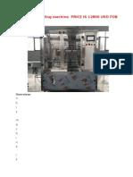 DOSIFICADORA DE LIQUIDOS-Piston Pump Filling Machine