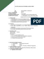 Rencana Pelaksanaan Pembelajaran Protista