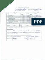 Interview Assessment Sheet