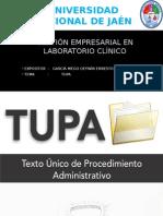 Tupa ( texto unico de procedimientos administrativos)