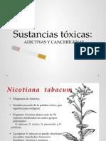tabaco, sustancias toxicas