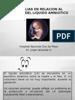 Anomalias Relacion Al Volumen Del Liquido Amniotico