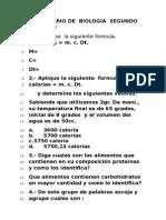 Cuestionario Glucolisis.ciclo Krebs,Fotosintesis.