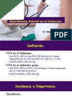 Hipertensión Arterial Durante El Embarazo 1