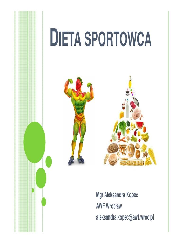 dieta sportowca ile kcal