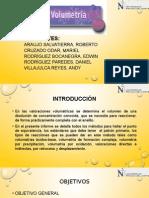 volumetria - quimica analitica