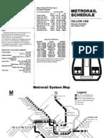 Old Rail Schedule