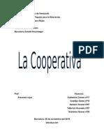 Trabajo de Cooperativa