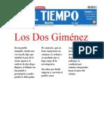 Los Dos Gimenez Camila