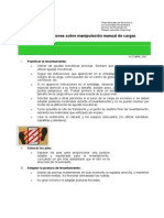 Manipulacion Manual Cargas