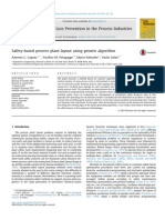 Safety-based Process Plant Layout Using Genetic Algoritm