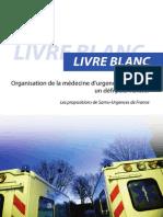 Livre Blanc Samu-Urgences de France