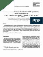 Walczak_Artificial Neural Networks in Classification of NIR Spectral Data