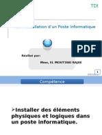 Installation d'Un Poste Informatique