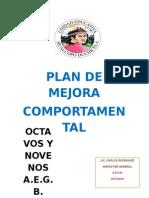 Plan de Mejora Comportamental Hualcopo Duchicela
