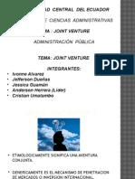 Joint Venture-comercio Exterior