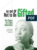 to be or not to be gifted- the choice for a new generation