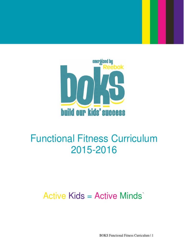 08172015 BOKS Curriculum NEW format_0.pdf | Physical Fitness | Fish