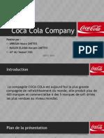 Coca Cola Company Présentation.pptx