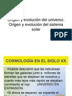 1.Origen y Evolución Del Universo.