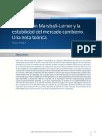 Condicion Marshall Lerner 1