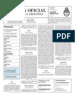 Boletin Oficial 26-03-10 - Segunda Seccion