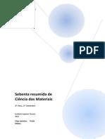 Sebenta resumida de Ciência dos Materiais (Quintino).pdf