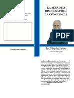 2015-03-14 La Segunda Dispensacion - La Conciencia