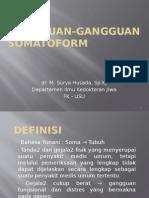 Gangguan Gangguan Somatoform