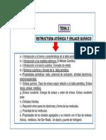 Tema 2 Estructura Atomica y Propiedades Periodicas